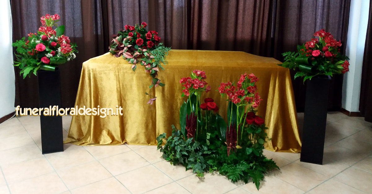 Arte floreale funebre fiori per il commiato