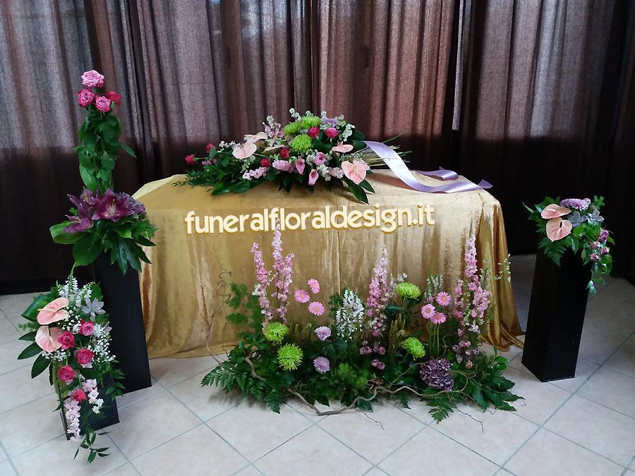 Scuola Arte Floreale Corsi Composizioni Funerarie di Fiori