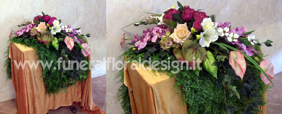 Arte Floreale Funeraria Composizioni fiori artificiali Onoranze Funebri